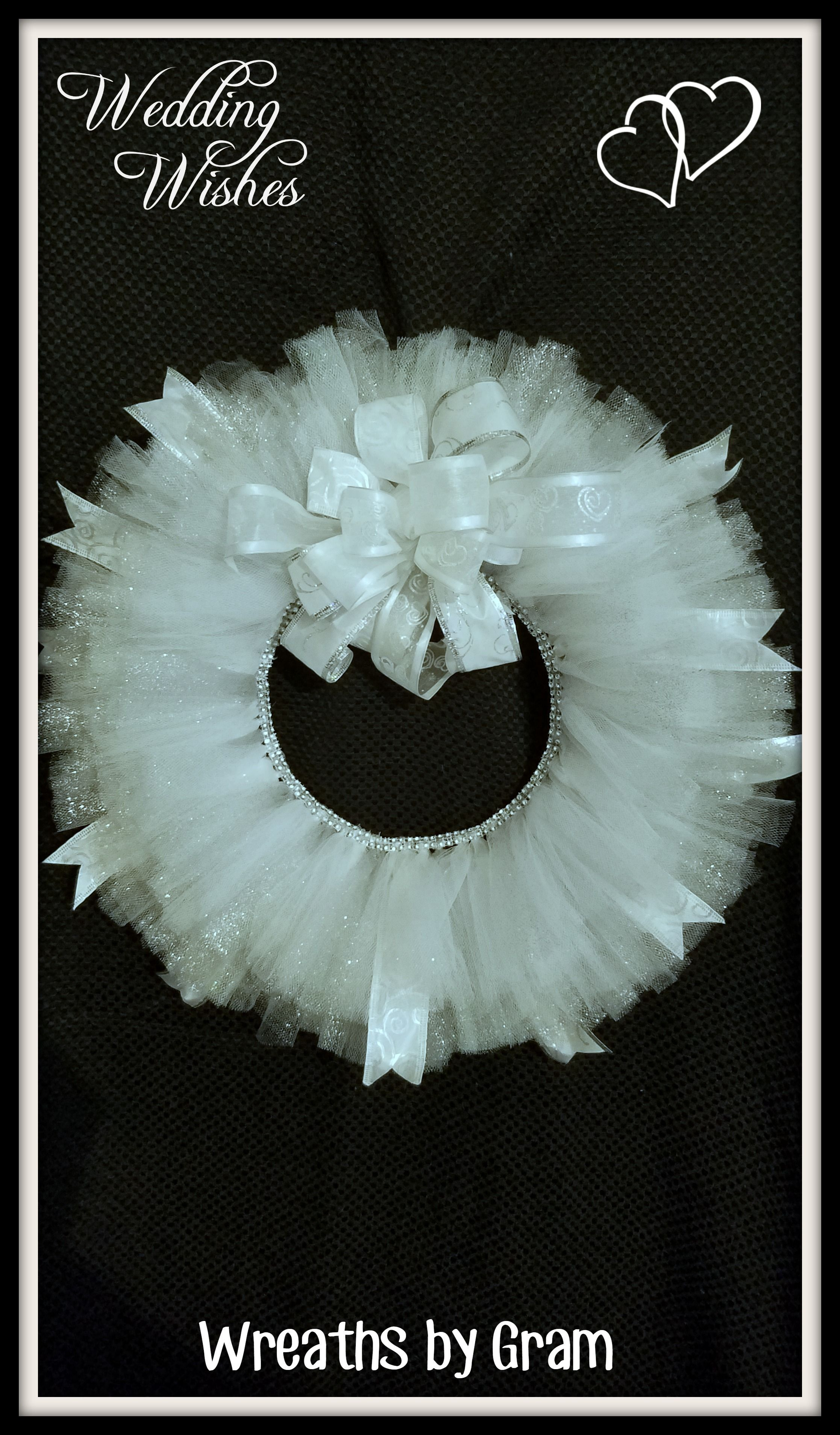 Wedding Shower Ideas Wedding Wreath Bridal Gift Bridal Shower Decor