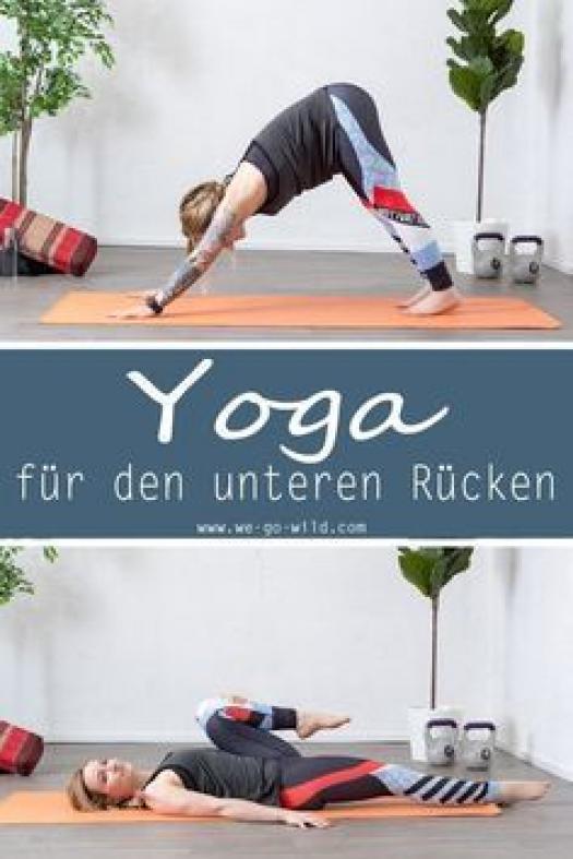 Mit unserem Homeworkout kannst du deinen Rückenschmerzen loswerden. Diese Yoga Übungen gegen Rückens...