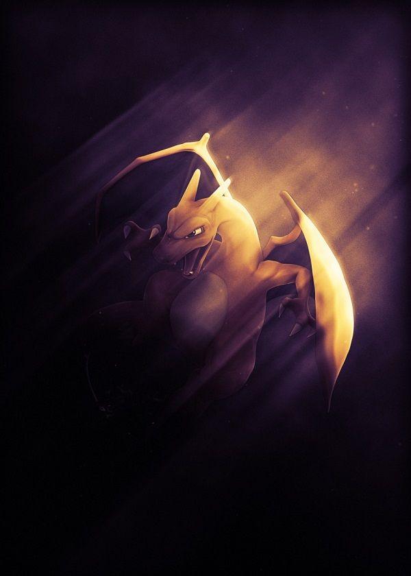 "Super Smash Bros. Ultimate Light Characters Charizard #Displate artwork by artist ""Danaydal"". Part of… | Displate thumbnail"