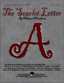 scarlet letter teaching guide lesson bundle for hawthorne s the rh pinterest com Dimmesdale Scarlet Letter Scarlet Letter Meaning