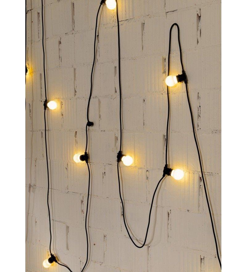 Lampa Bella Vista od Seletti czarna taras Pinterest