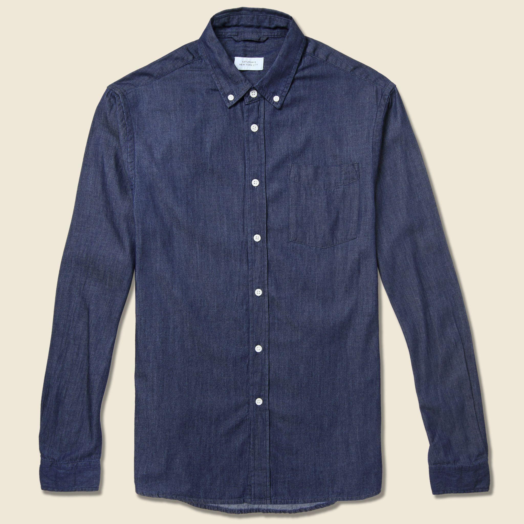 Crosby Oxford Shirt - Indigo