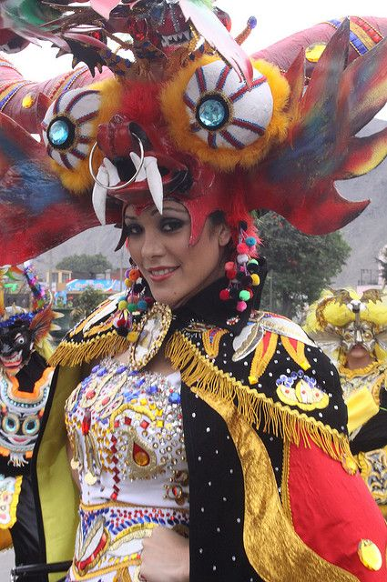 Miss Perú Karen Schwarz   Festivals around the Globe   Peru, Cusco