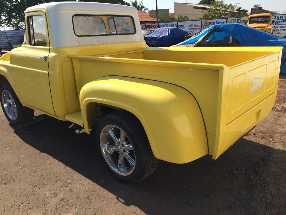 Ford F100 Com Cacamba Stepside Hot Cacamba Carros