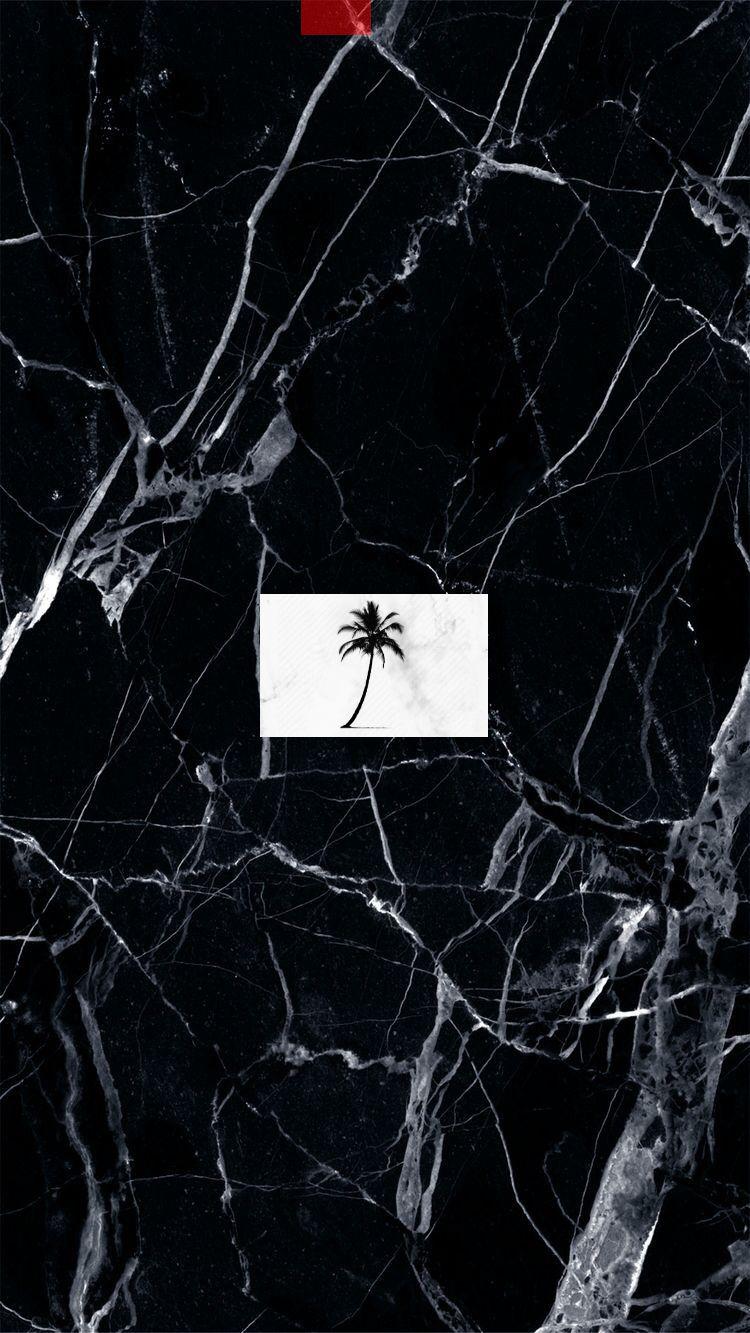 Black Marble Marble Palm Tree Logo Travel Instagram Highlights Instagram Icons Instagram Highlight Icons Instagram
