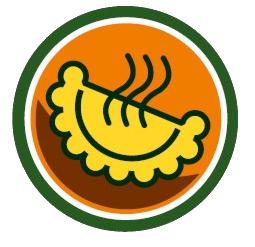 Caricaturas De Empanadas Buscar Con Google Empanadas Dibujo Logos De Comida Cumpleaños De Los Minions
