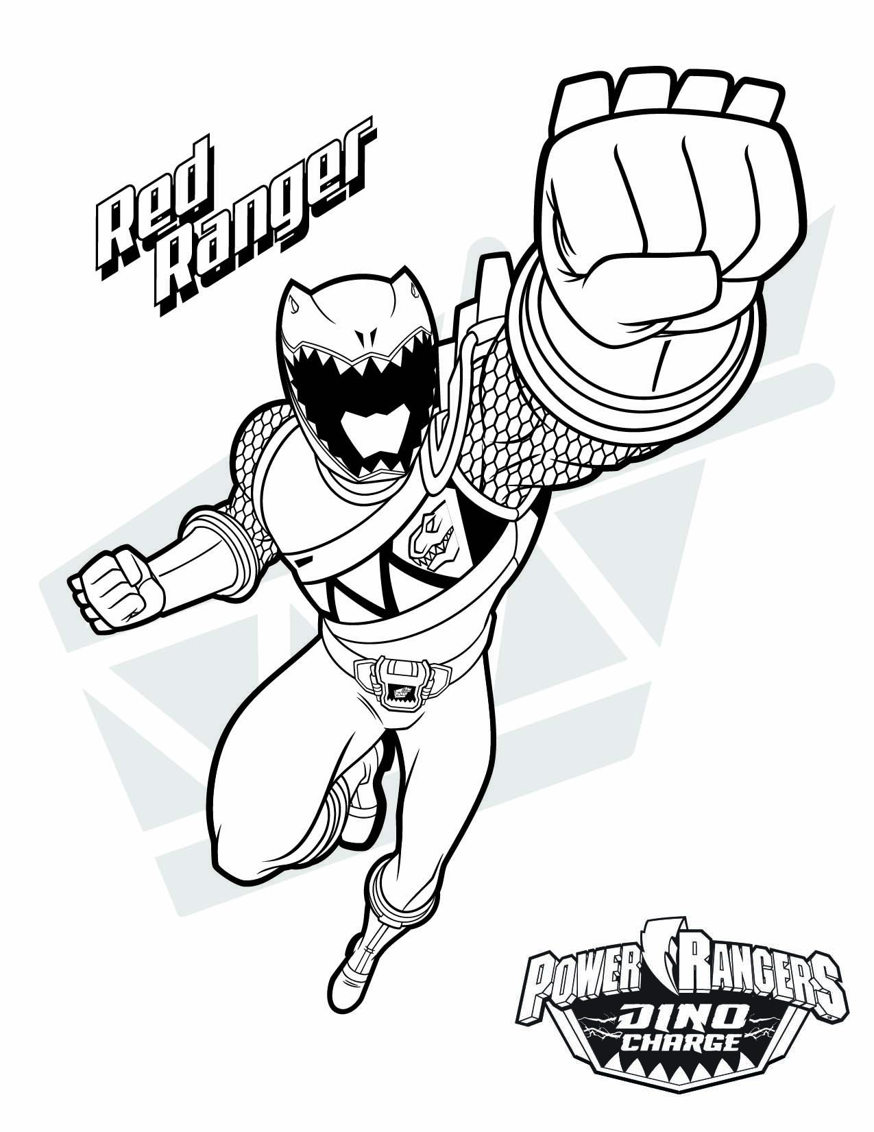 red ranger download them all httpwwwpowerrangerscomdownload type coloring pages