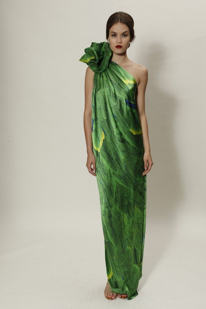 Naeem Khan Resort 2015 - via wwd Think this one is more wearable
