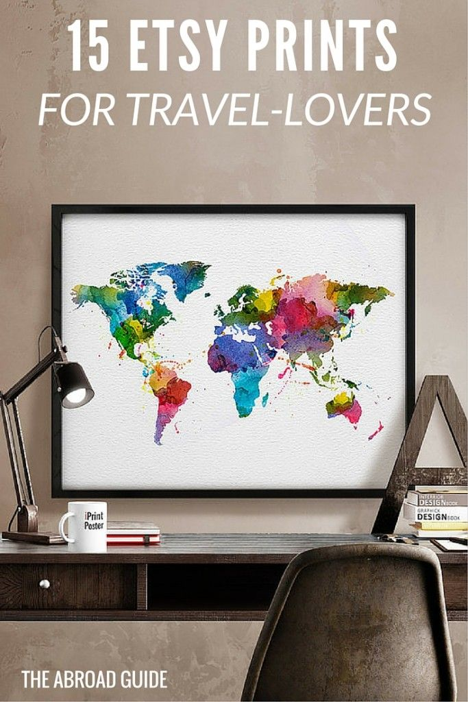 15 prints posters on etsy that every travel lover should have 15 prints posters on etsy that every travel lover should have gumiabroncs Gallery