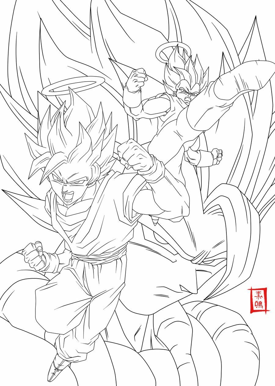 12 Propre Coloriage Dragon Ball Z Sangoku Pics Coloriage Vozeli Com