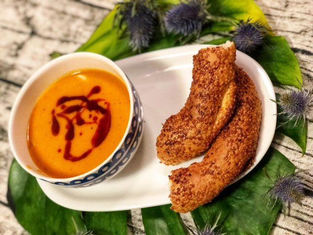 Tuerkische Linsensuppe l Mercimek Corbasi l einfache tuerkische Suppe