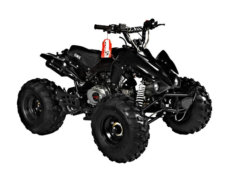 Gmx The Beast Black 125cc Sports Quad Bike Atv Quad Bikes