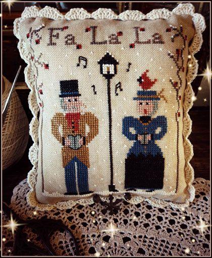 Fa la la da Fairy Wool in the Wood - Schemi Punto Croce - Schemi Punto Croce - Casa Cenina