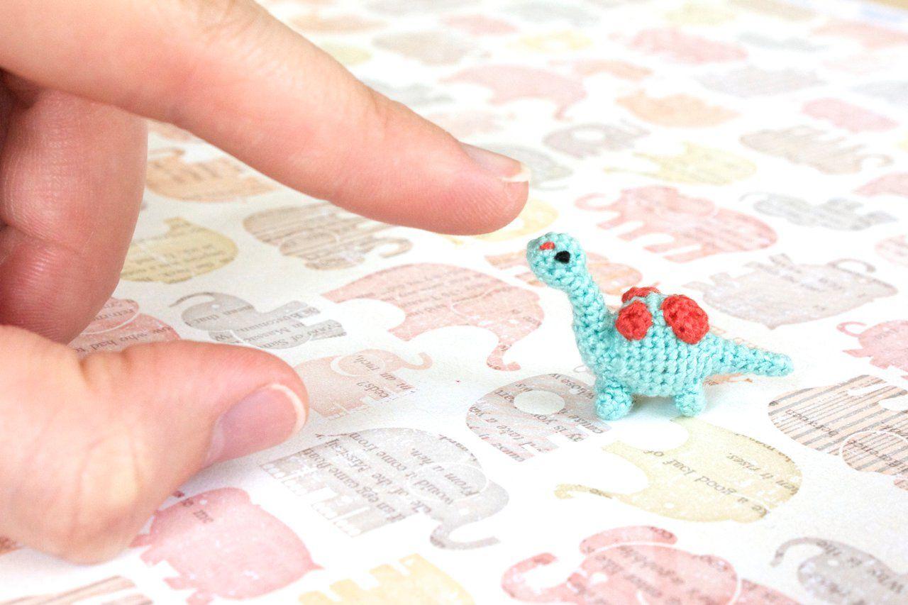 Miniature Brachiosaurus Dinosaur Amigurumi by SkySinger92.deviantart ...