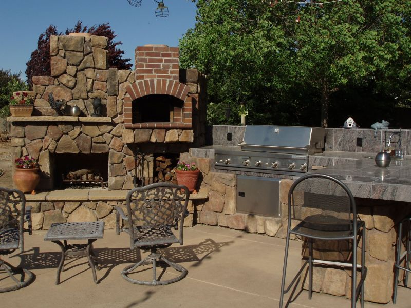 Pros and Cons of Trees Near Your Outdoor Kitchen Diy