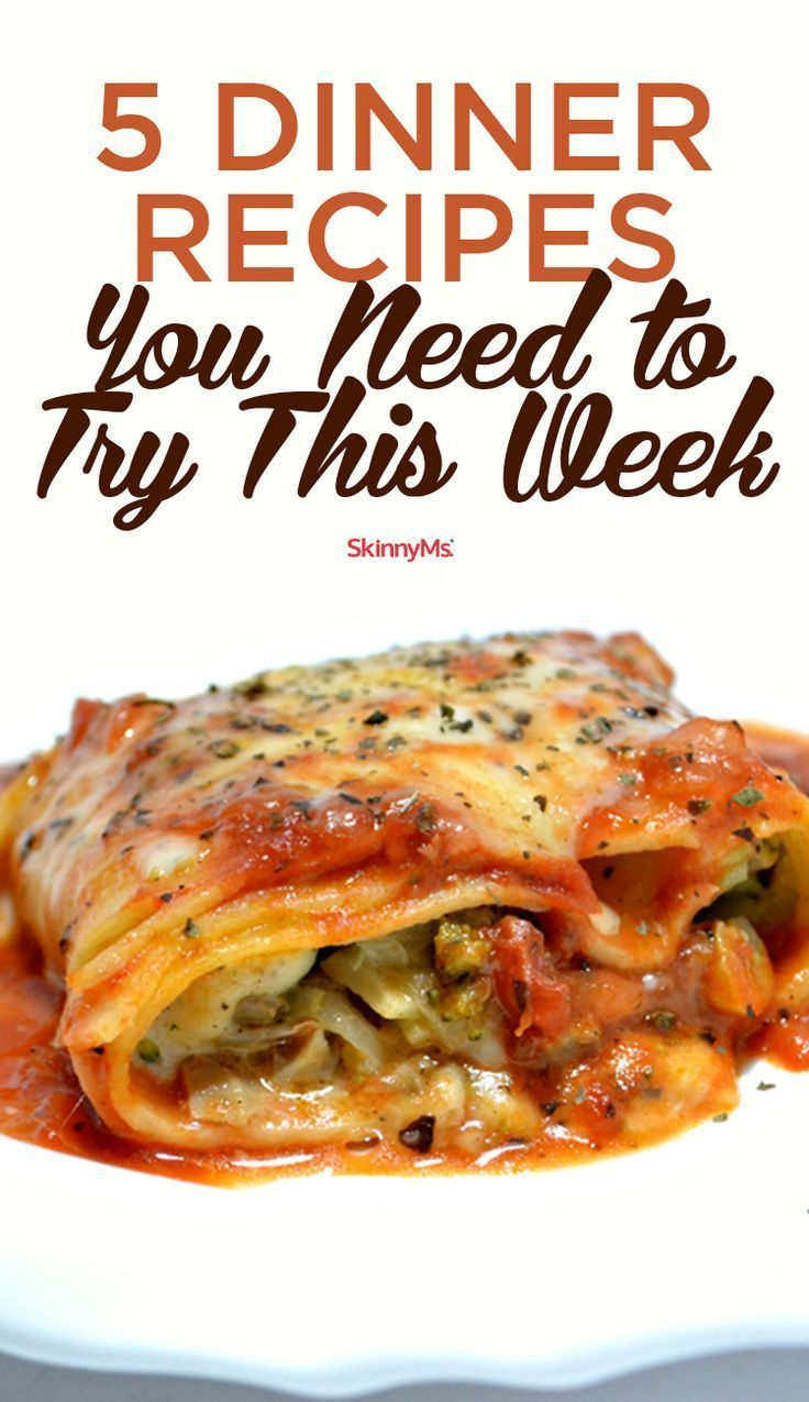 5 dinner recipes you need to try this week healthy dinner recipes 5 dinner recipes you need to try this week healthy dinner recipes dinners and easy forumfinder Image collections