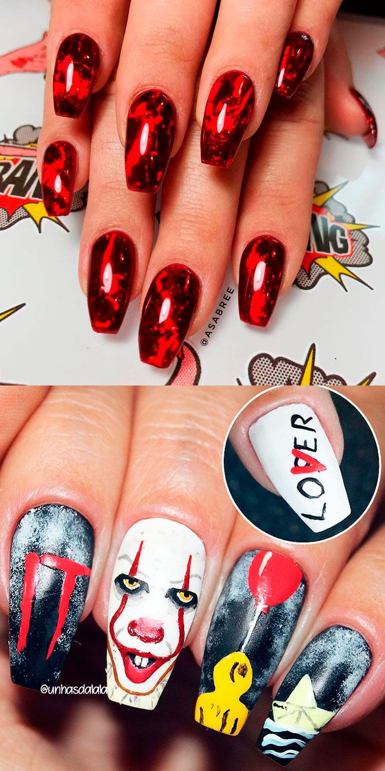 The Best Halloween Nail Designs In 2018 Stylish Belles Halloween Nail Designs Halloween Nails Super Nails