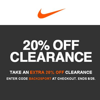 #Nike Take Off an Extra 20% Shop from the USA on #iShopinternational.com