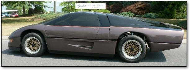 The Wraith Car >> Dodge Ms4 Turbo Interceptor From The Movie The Wraith Starring