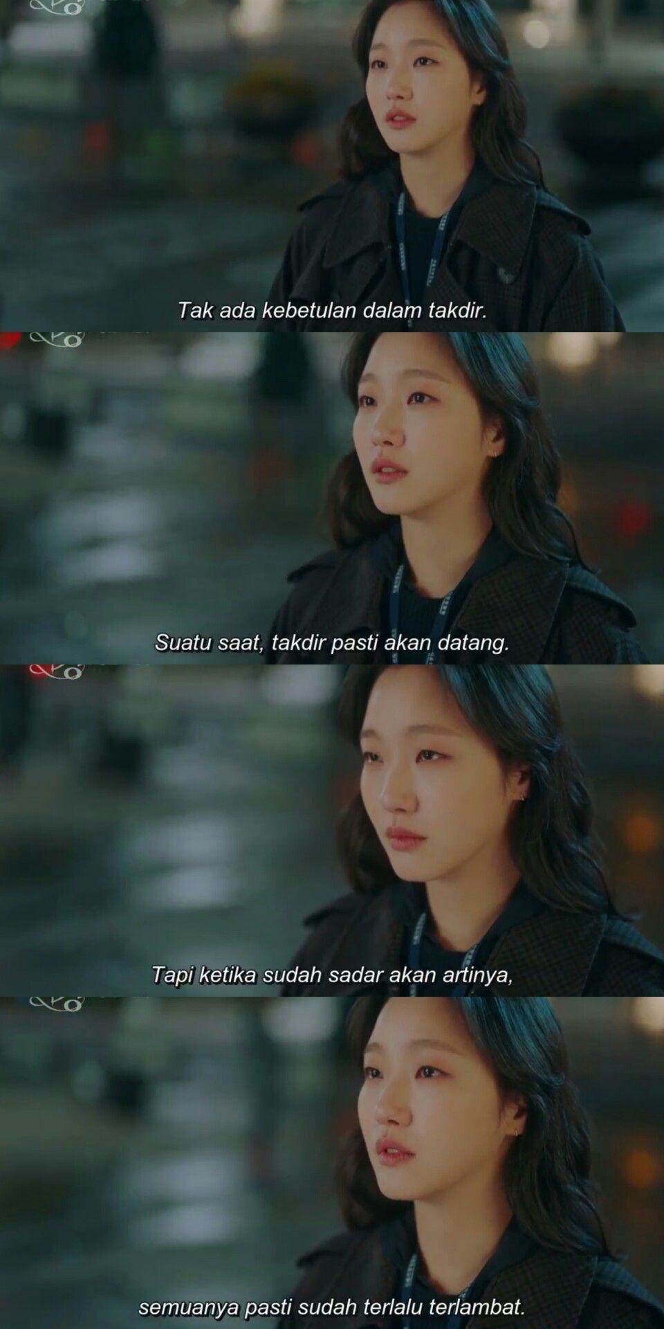 Pin Oleh Adesaania Di Dkorea Kutipan Film Kata Kata Indah Ungkapan Cinta