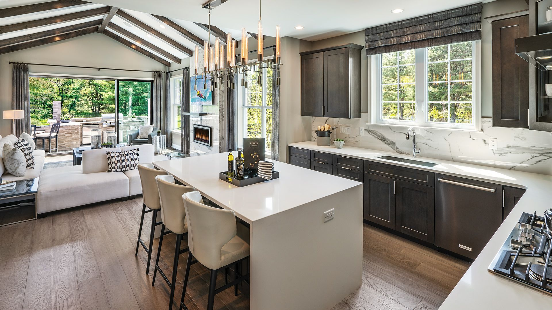 Toll Brothers Kitchen Strathmere Wellesley Google Search Traditional Kitchen Design Luxury Homes Model Homes