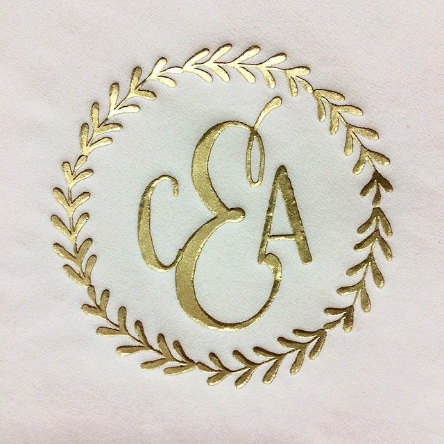 33 Happy #monogrammonday And Congratulations To Caley And