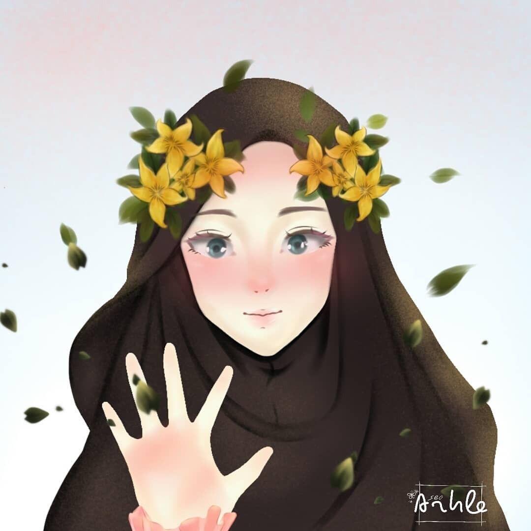 Pin Oleh Nurlita Di Anime Muslimah Elit Di 2020 Gambar Kucing Lucu Gambar Bingkai Foto