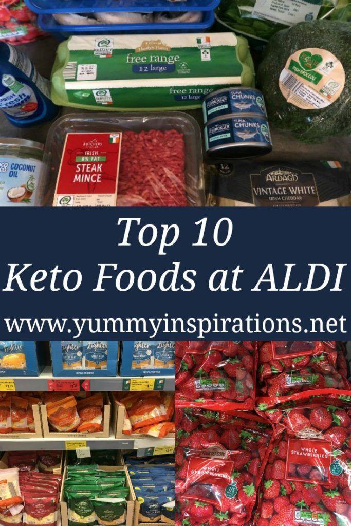 Top 10 Keto Foods At ALDI Low carb recipes, Keto recipes