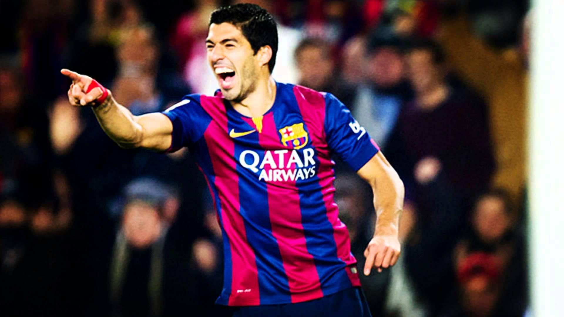 Barcelona vs Rayo Vallecano 1 : 0 Luis Suarez Goal - ( La Liga ) 2015