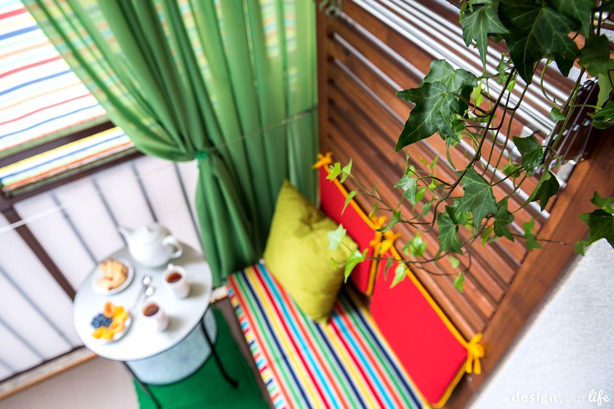 Aranzacja Balkonu W Bloku Balkon Budynek Garaz I Spring