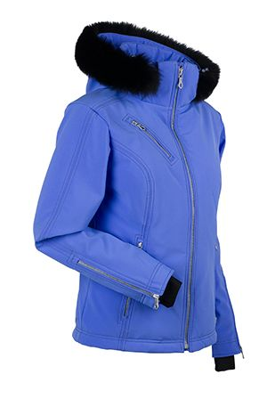 Women s ski and snowboard jacket. Look effortlessly chick in this hip length d92498a62