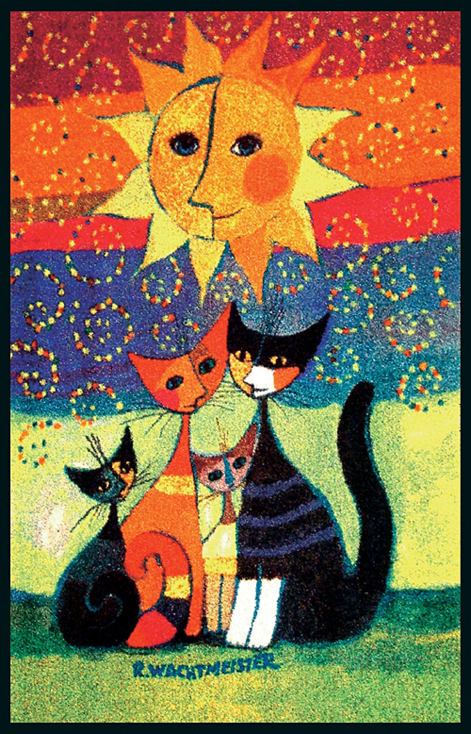fussmatte katzen momenti rosina wachtmeister art katzen meow pinterest more cat. Black Bedroom Furniture Sets. Home Design Ideas