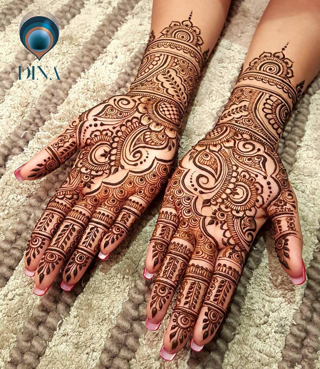 White Wedding Dress With Henna: Henna Artist, Bridal Henna, White