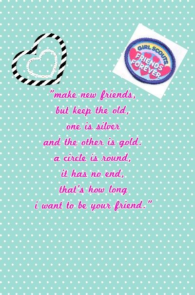 Girl Scout Friendship Song : scout, friendship, Friendship, Qoutes, Scout, Crafts,, Daisy, Scouts,, Scouts