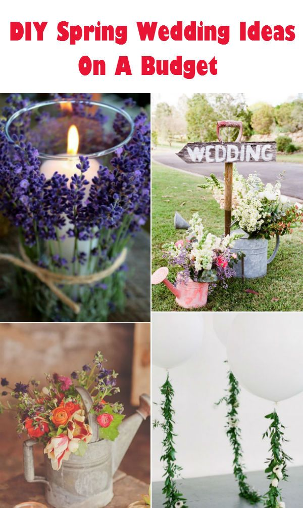 20 Creative DIY Wedding Ideas For 2016 Spring Spring