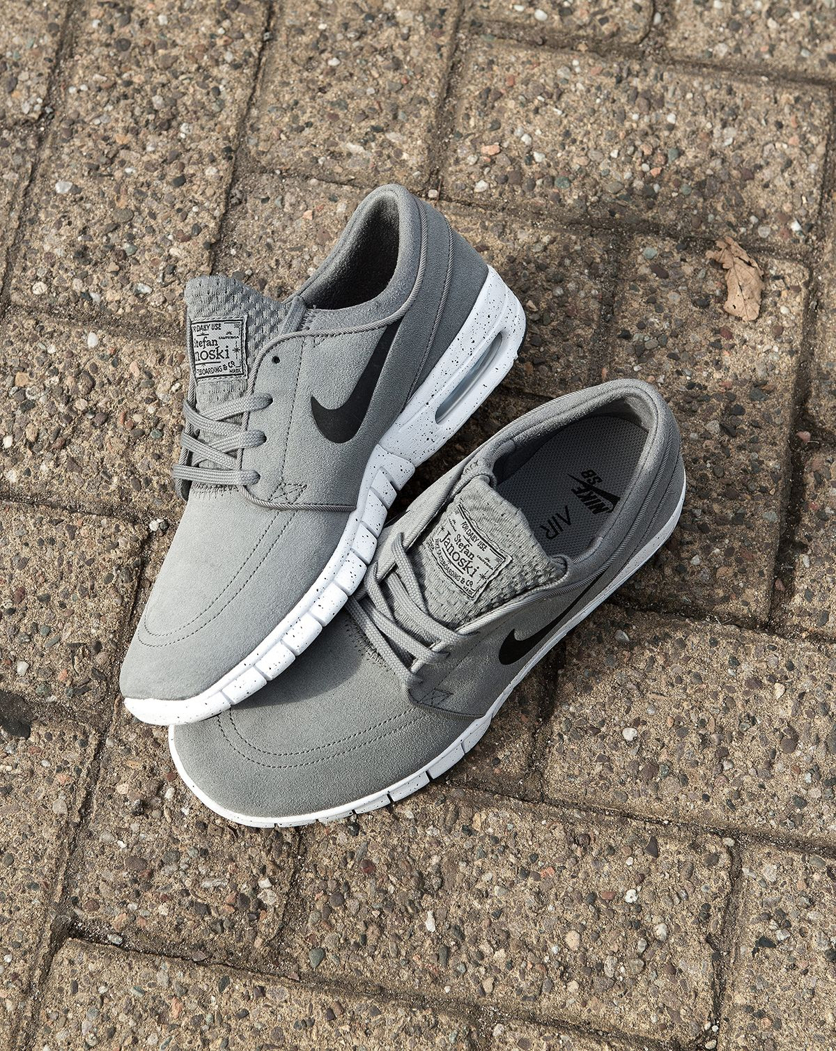 quality design 1de5a 17130 The Nike Janoski Air Max can do no wrong. The skate staple gets a clean  grey suede update, ready for winter.