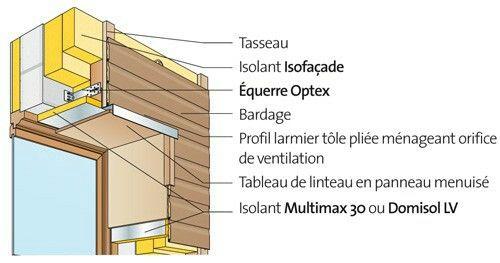 Ite Sur Linteaux De Fenetres Existants Linteau Bardage Panneau Isolant