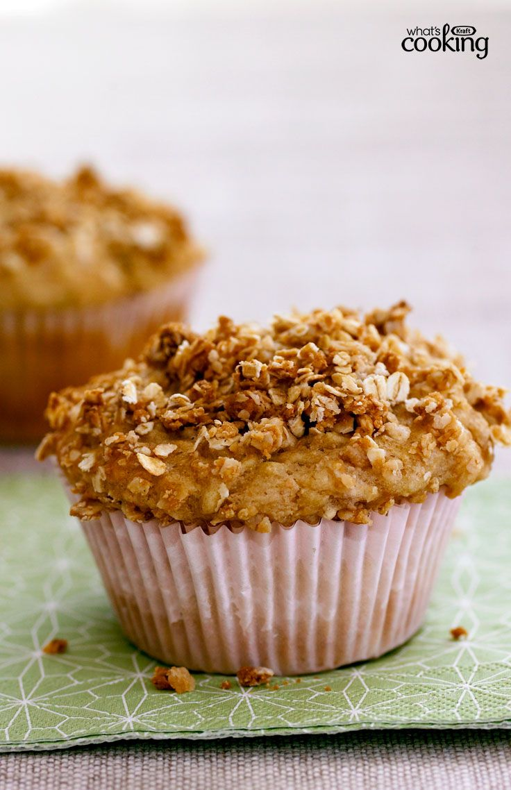 Apple Crumble Muffins #recipe | Apple recipes, Apple ...