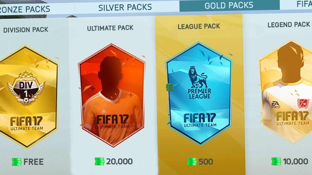 Fifa 17 Best Packs In Ultimate Team Which Fut Packs Are Worth Buying See More At Http Www Ballcoins Com News 406 Fifa 17 Be Pack Of Cards Packing Fifa