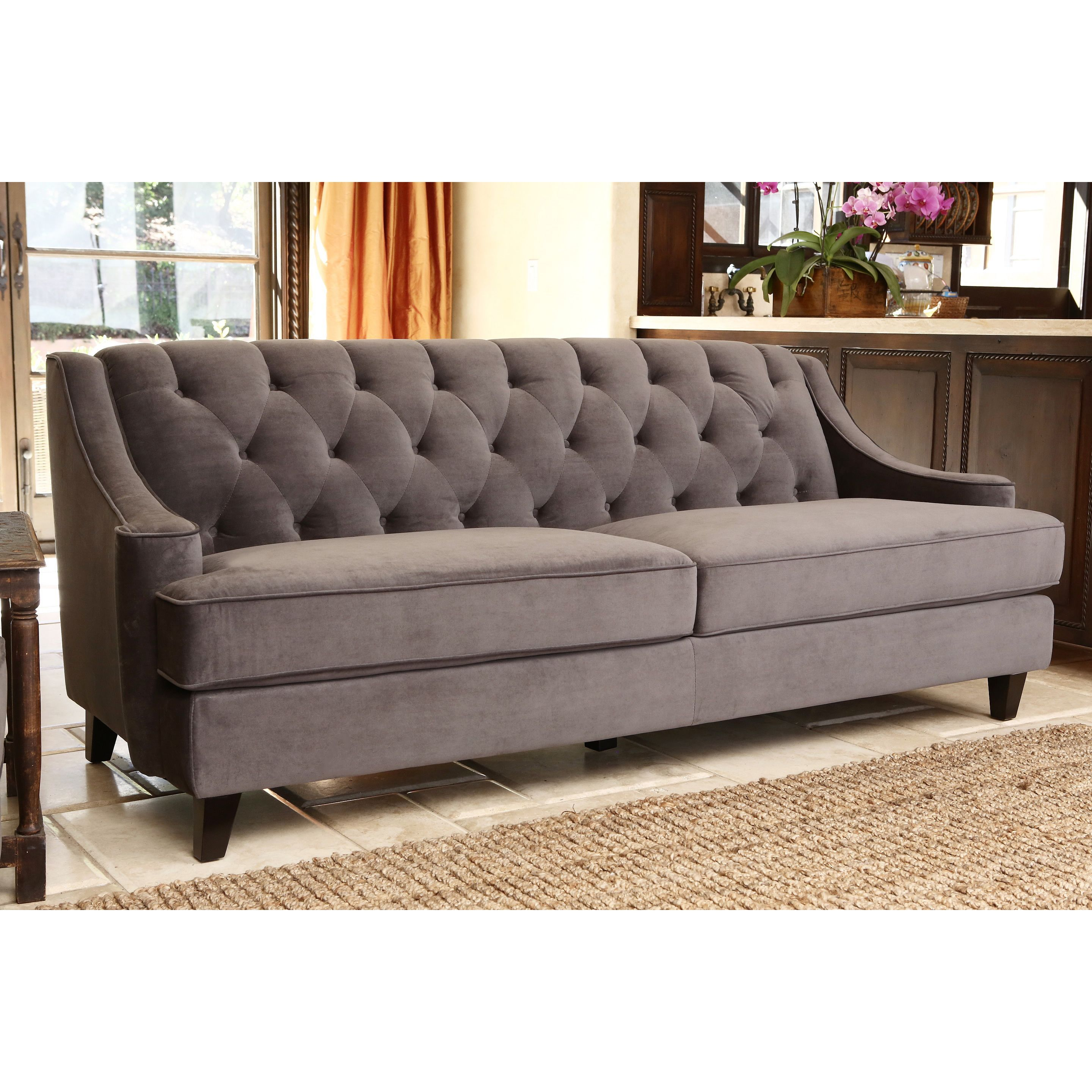 Created With Style And Refinement, This Abbyson Living Sofa Will Make A  Great Addition To
