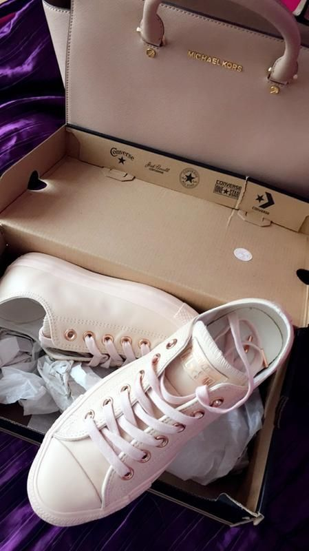 converse egret rose gold. converse all star low leather pastel rose tan gold exclusive - hers trainers egret h