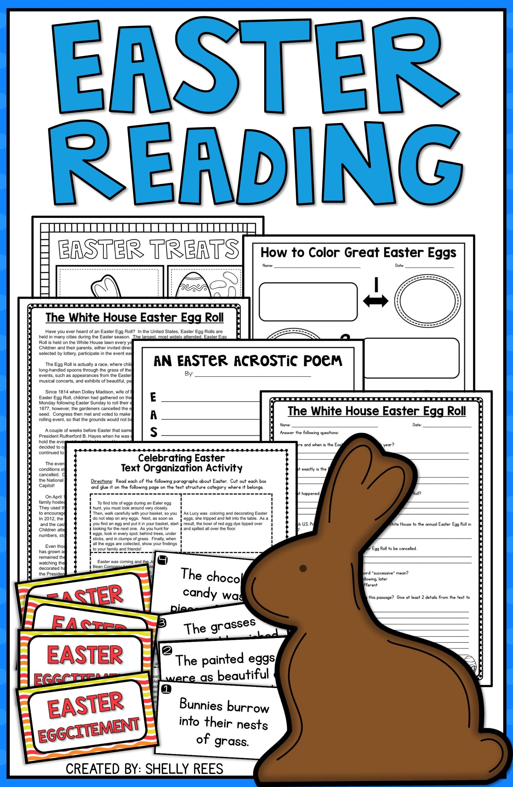 Easter Activities Easter Reading And Easter Writing Worksheets