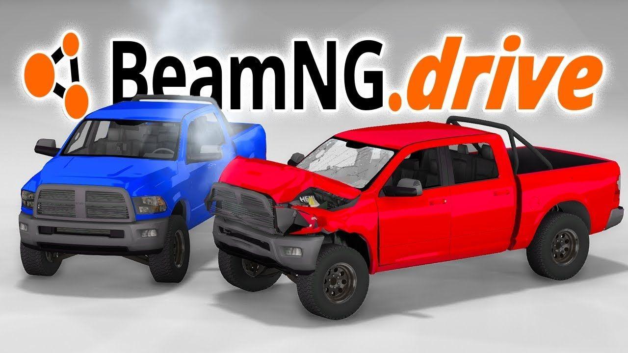 Dodge Ram 1500 Truck Crash Testing Beamng Drive Truck Mod Local