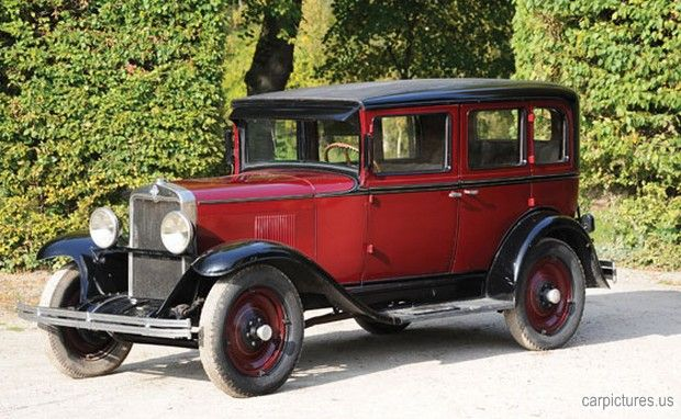 1929 chevrolet international four door sedan car