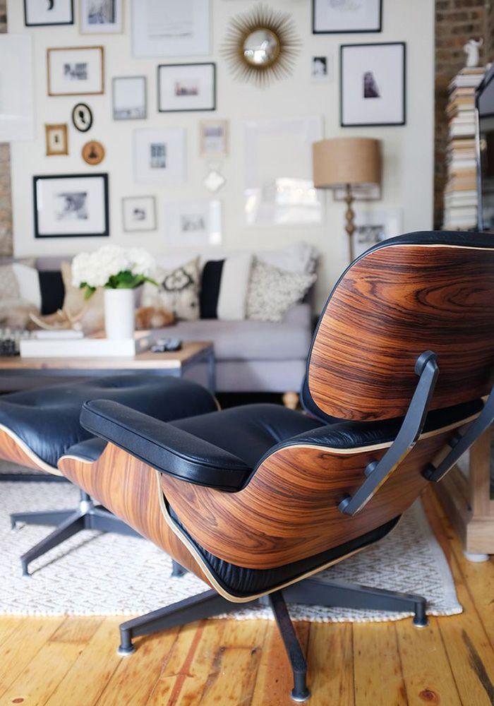 eyes for eames mid century living room lounge chair design rh pinterest com