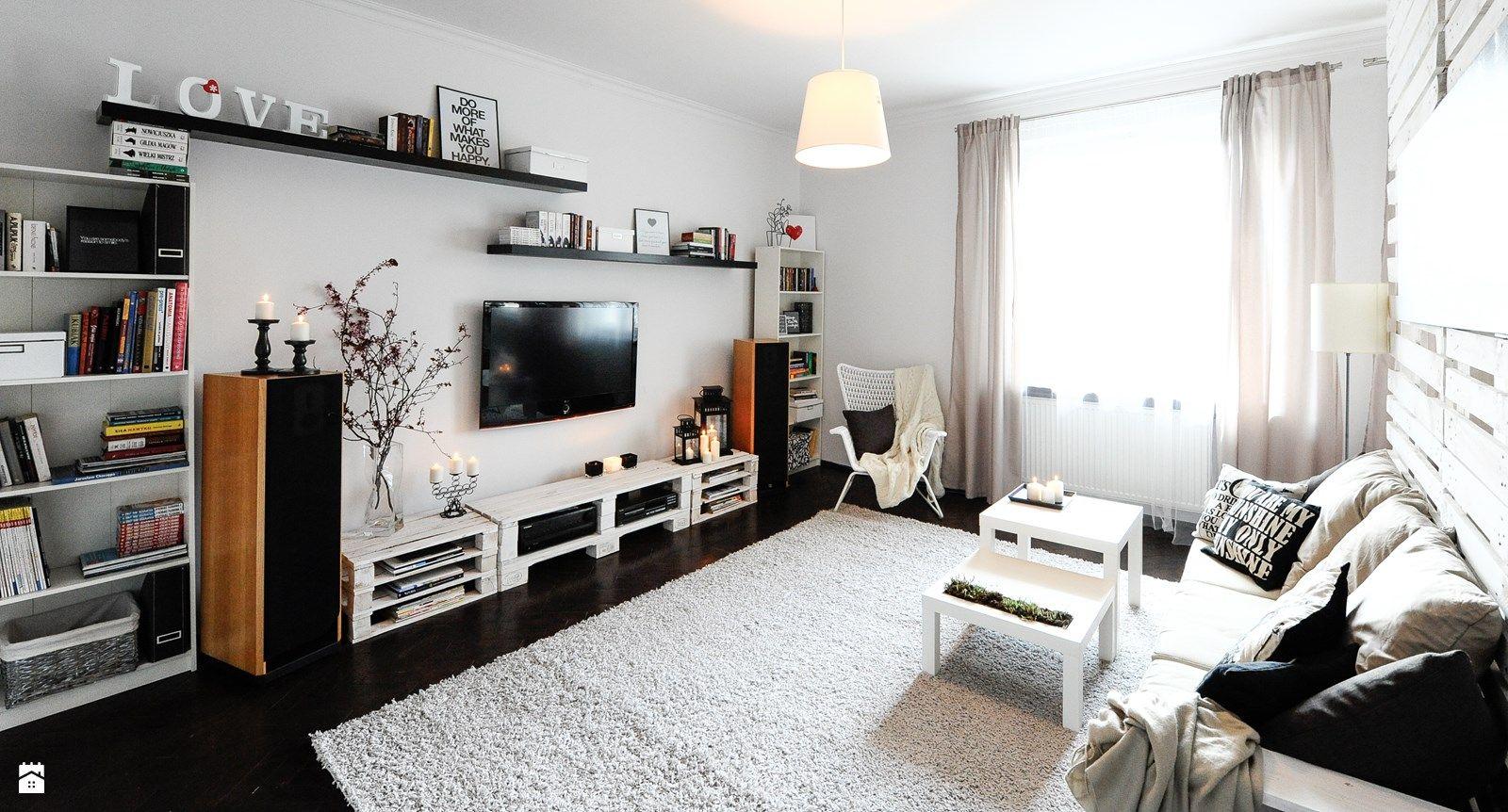 Salon styl skandynawski zdj cie od agidesign salon styl skandynawski agidesign home - Home staging salon ...