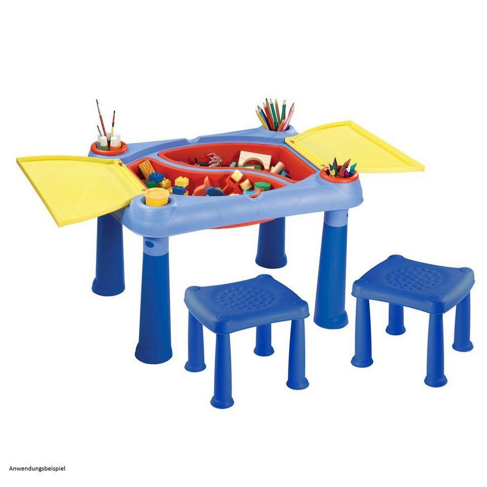Keter Kreativer Spieltisch Mit 2 Hockern M675 Fur 45 99