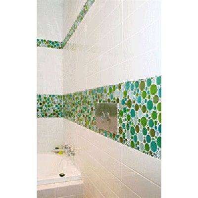 Round Bubbles Glass Tile Mosaic Crystal Glass Bubbles Round Mosaic Glass Tile M03 Spa Blend Glossy Glass Bubble Glass Mosaic Tiles Glass Tile