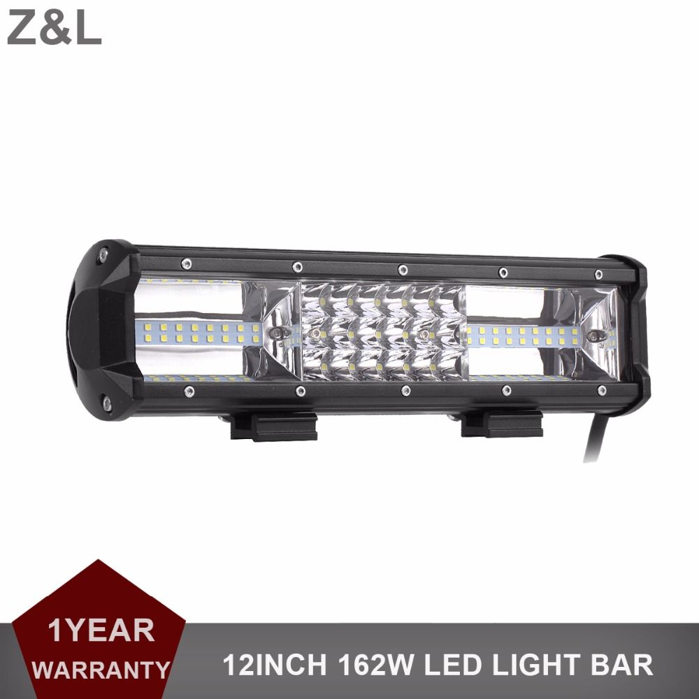 Offroad led work light bar 162w 12 inch suv car truck boat wagon offroad led work light bar 162w 12 inch suv car truck boat wagon pickup trailer tractor aloadofball Image collections