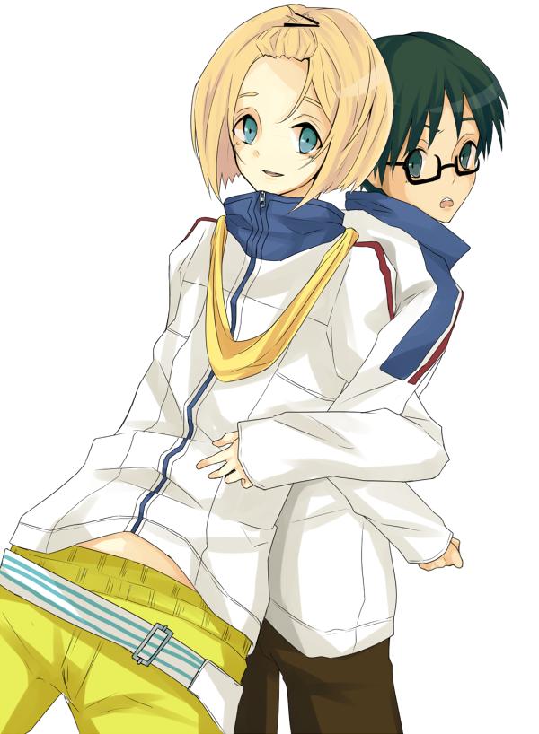 Prince of Stride - Hozumi & Ayumu by あずま on pixiv